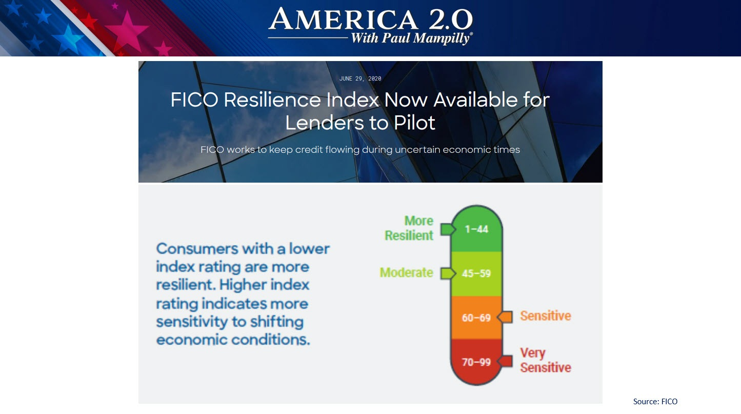 America 2.0 New FICO Resilience Index June 2020