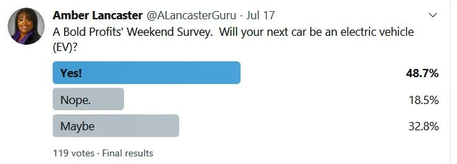 Twitter EV Survey Poll