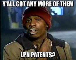 Moderna doesn't hold the patent on LPN technology. Arbutus Biopharma Corp. (Nasdaq: ABUS) does.
