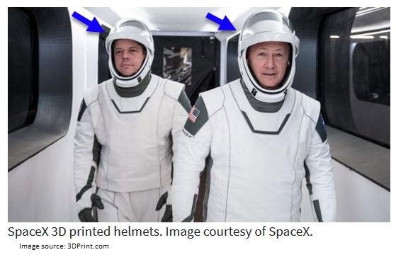 3D Printed Helmets