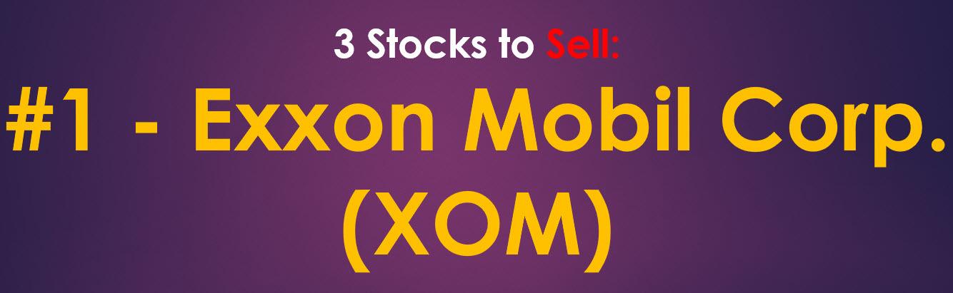 Exxon Mobil Stock Sell