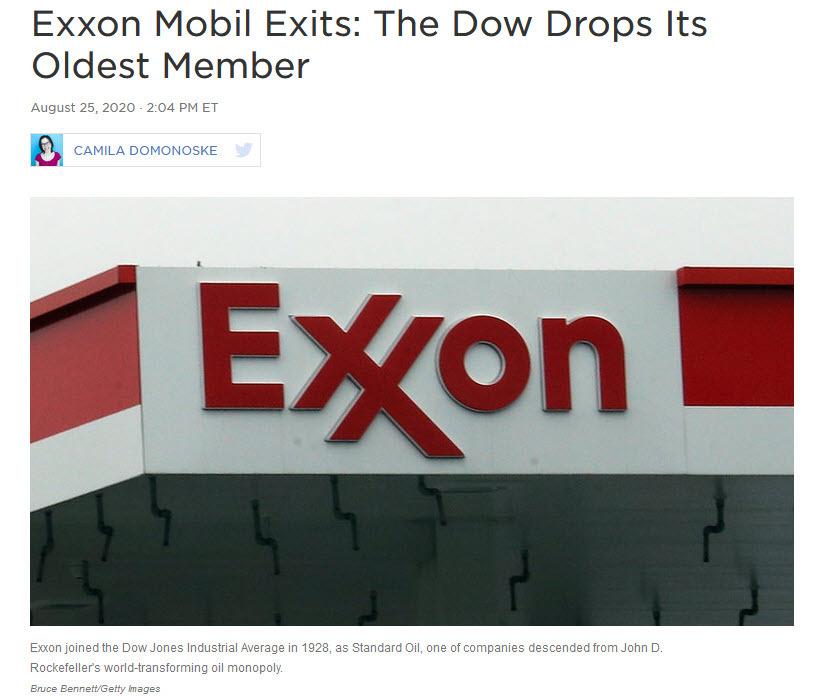 Exxon Mobil Headline