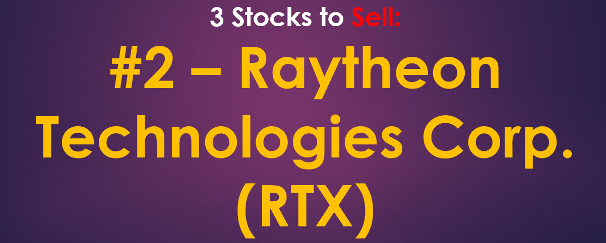 Raytheon Stock Sell