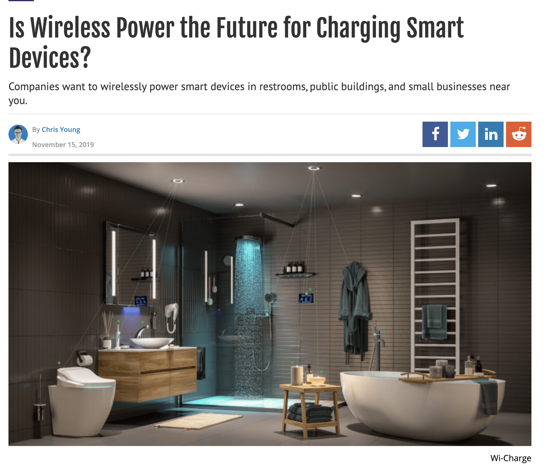 wireless power future of charging smart devices