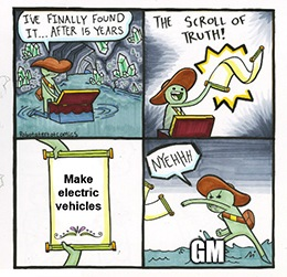 By the time GM finally does something with its EV unit, it could be too little too late.