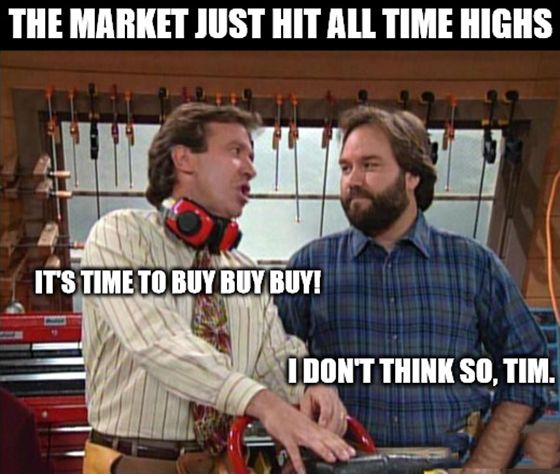 All-time highs? The market — erm — finds a way. Home improvement and DIY stocks lead the way to pre-pandemic highs for the S&P 500.