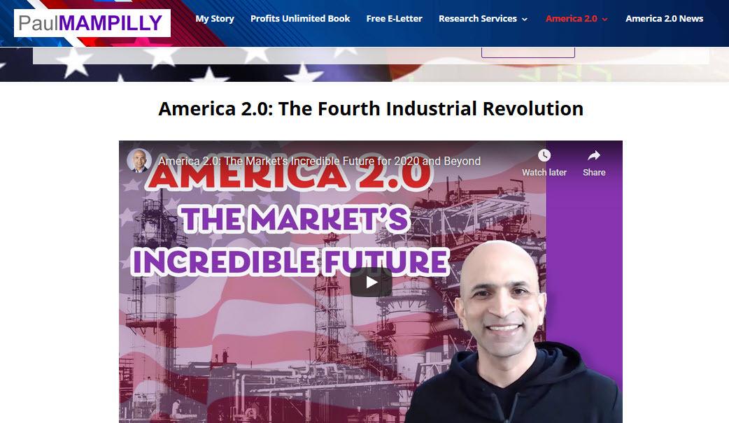 America 2.0 Paul Quote August 2020