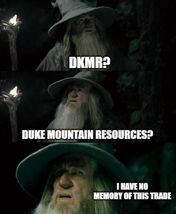 Anyone ever hear of Duke Mountain Resources Inc. (OTC: DKMR)?