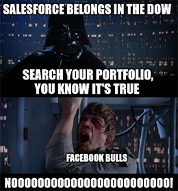 If you were among those wondering if SalesForce.com Inc. (NYSE: CRM) deserved to be in the Dow Jones Industiral Average … today's earnings report should make you reconsider those doubts.