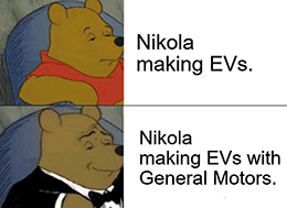 Nikola just announced that General Motors Co. (NYSE: GM) is acquiring an 11% stake in the electric vehicle (EV) maker.