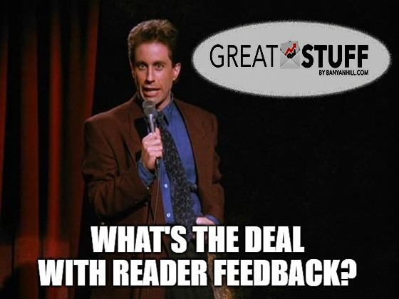 What's the deal with Reader Feedback?