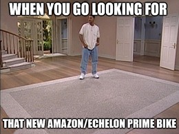 Echelon does not have a formal partnership with Amazon.