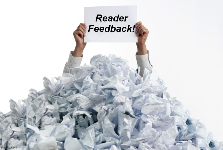 Great Stuff - Buried Reader Feedback