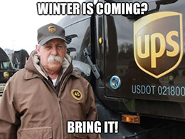UPS beat expectations on both counts.