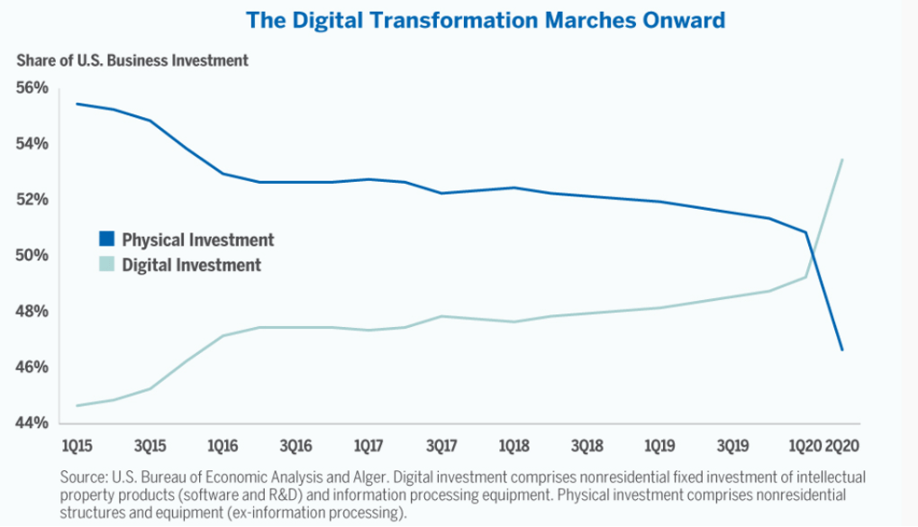 U.S. Business Investment Digital Transformation