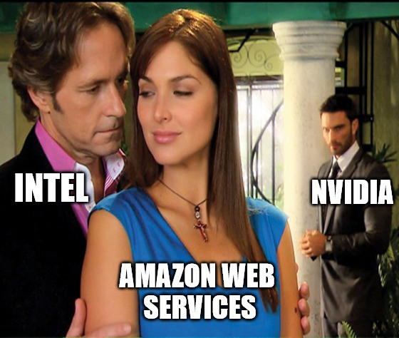 Intel's Habana takes aim at NVIDIA with Amazon deal, despite AMD still nipping at its heels. The Big Data market is getting as complicated as a Mexican telenovela lately…
