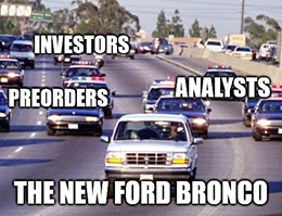 Ford delayed the release of its much-anticipated Bronco SUV.