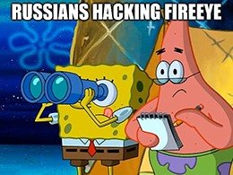 """FireEye said today that it was hacked by a """"highly sophisticated state-sponsored adversary."""""""