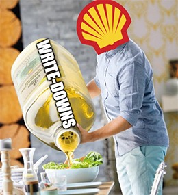 Royal Dutch Shell just announced that it's slashing the value of its oil and gas holdings by $4.5 billion.