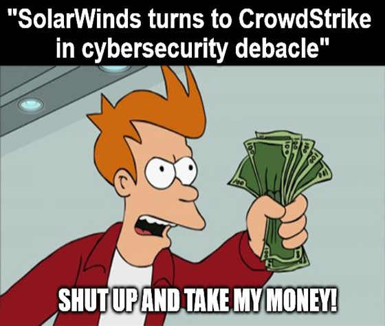 Why CrowdStrike may be the biggest winner in the worst hacking case in American history.
