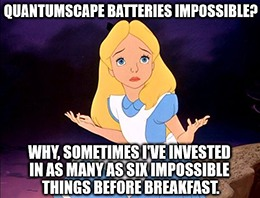 Investors are buying QS because they believe that EV makers will race to buy QuantumScape batteries in order to compete with Apple.