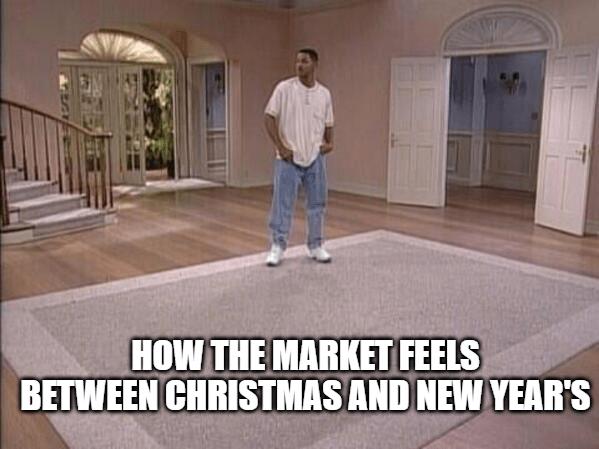 Market Meme Christmas New Years