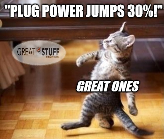 PLUG Power Stock Jump Meme