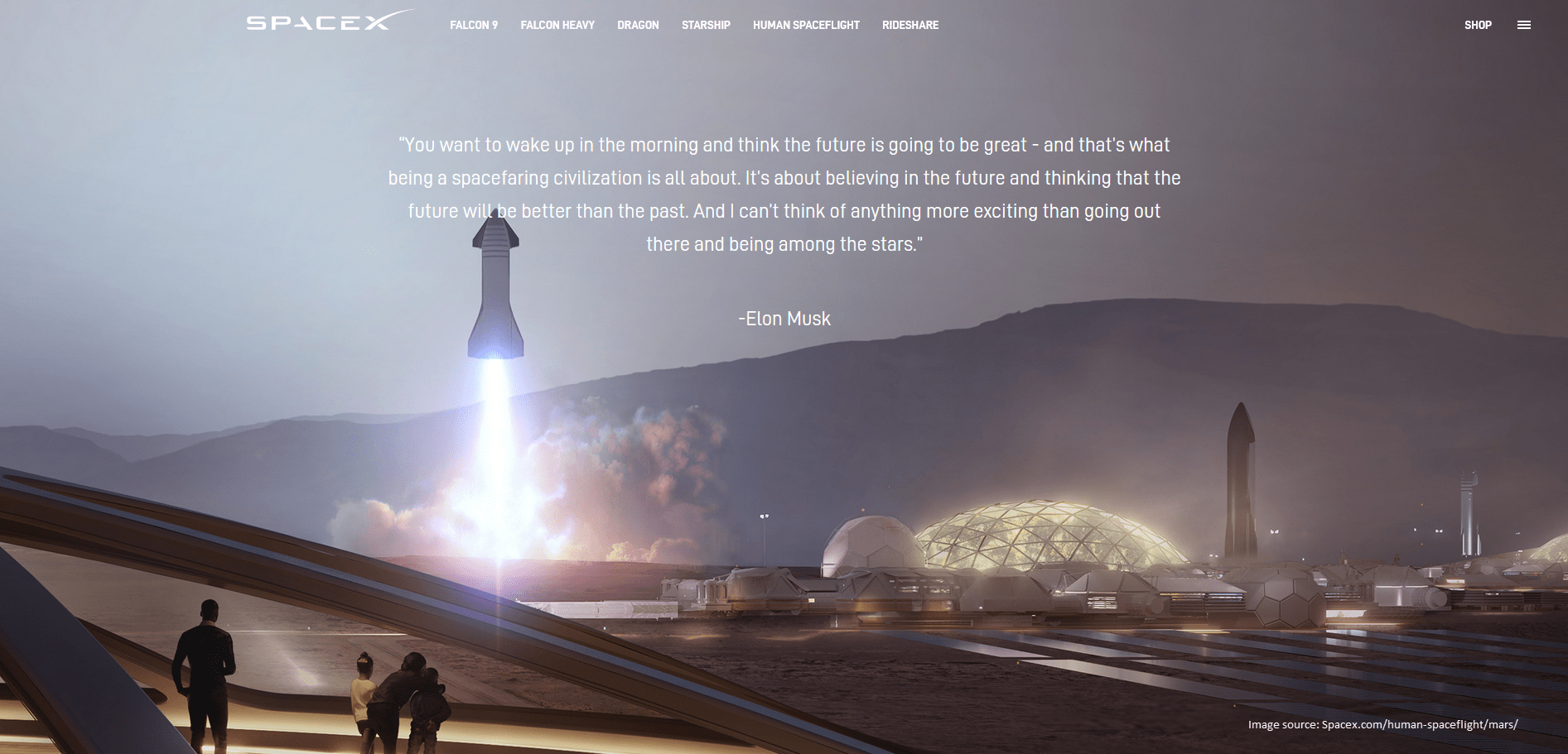SpaceX Mission Statement