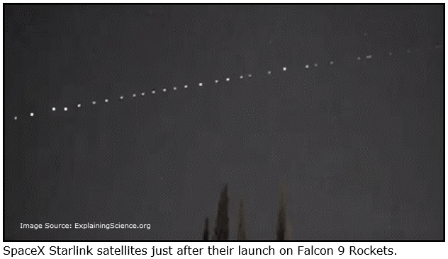 SpaceX Starlink Satellites