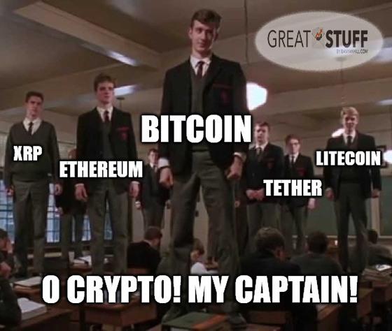 O Crypto My Captain Meme