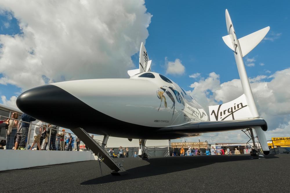 Virgin Galactic aircraft