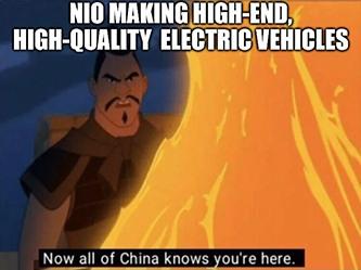 NIO Car China Meme