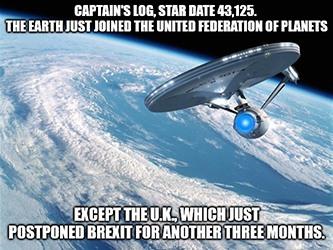 Captain Log Space Meme