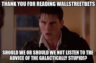 WallStreetBets Meme