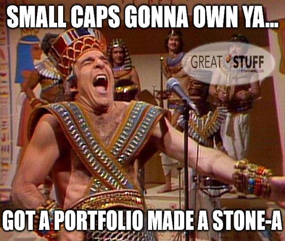 Small cap own ya stock meme