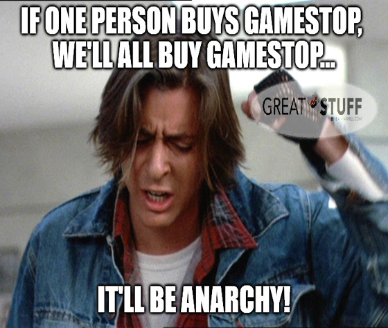 GME Breakfast Club anarchy big meme