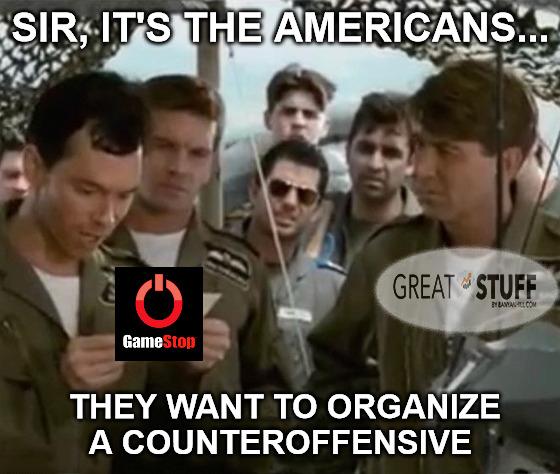 GameStop counteroffensive meme big