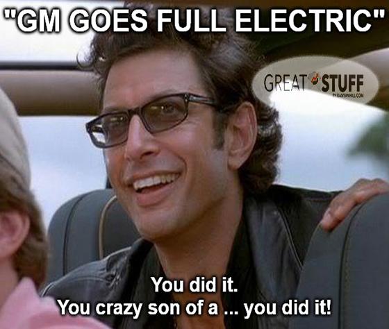 GM goes full electric meme big