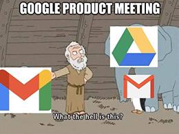 Google ad revenue drive/mail meme