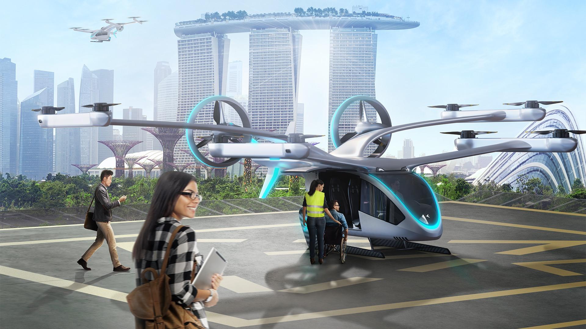 MaaS air taxi concept image