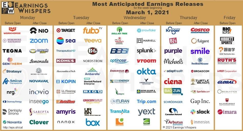 Earnings chart 03-01-2021