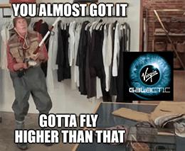 SPCE gotta fly higher BofA upgrade meme