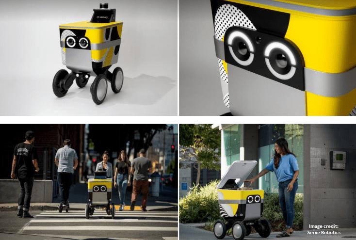 Uber Serve Robotics concept
