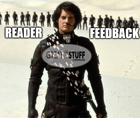 Great Stuff Dune Paul Reader Feedback meme big