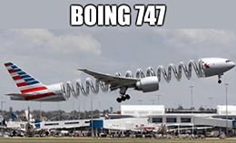 Boeing Boing 747 meme
