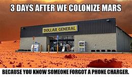 Dollar General Mars meme