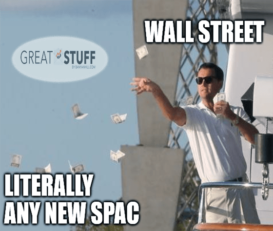 Wall Street's throwing stimulus cash at literally any new SPAC meme big