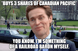 three-share railroad baron myself KCS meme