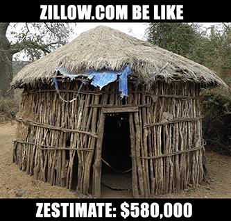 Zillow Zestimate zesty meme