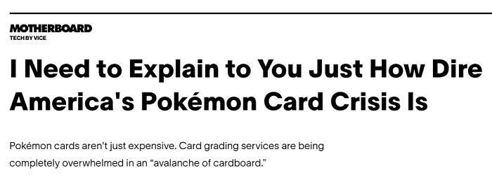 america pokemon card trading crisis headline